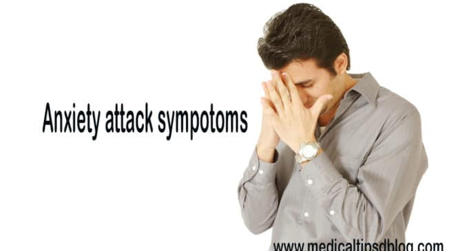 Get known to an anxiety attack symptoms