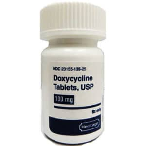 doxycycline hyclate 100mg
