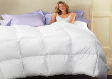 How a Down Comforter Can Improve My Skin Problems